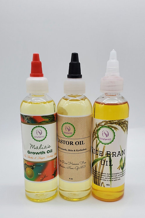 Growth oils only