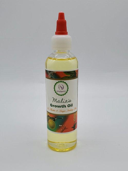 Malia's Growth Oil