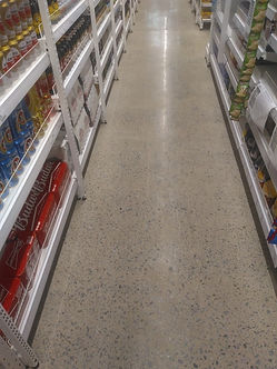 Piso de concreto lapidado como aumentar adurabilidade