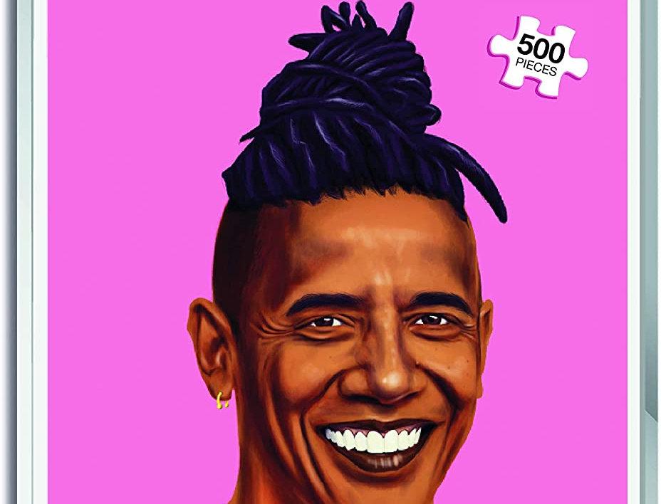 Barack Obama Hipstory Jigsaw Puzzle