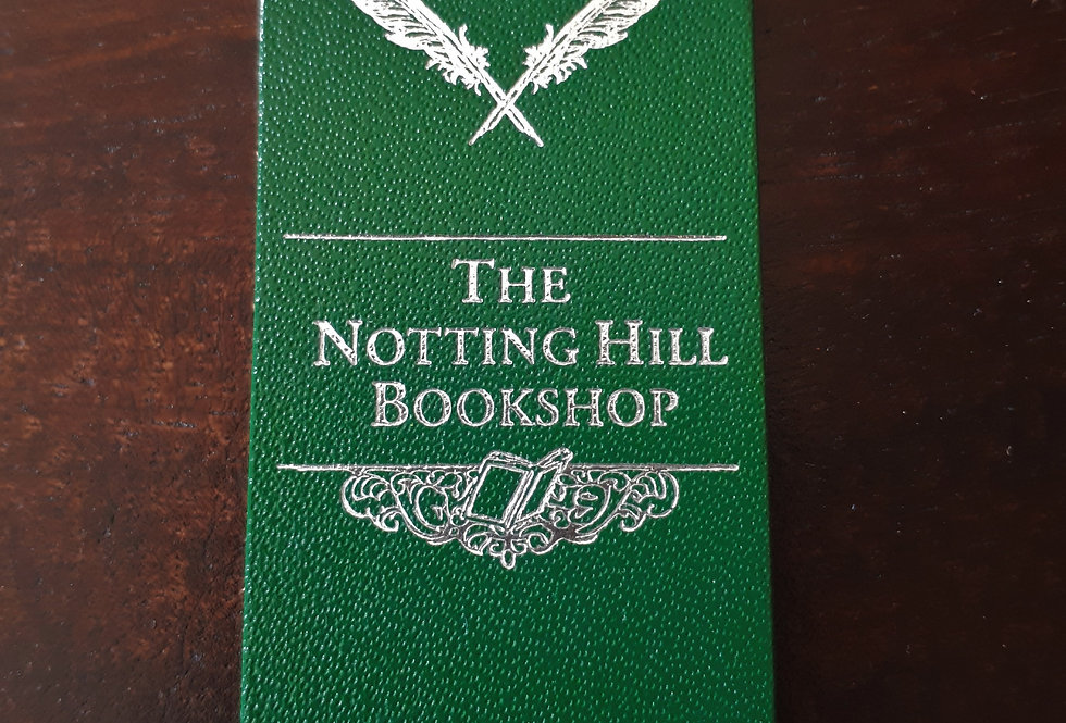 Notting Hill Bookshop Bookmark Green