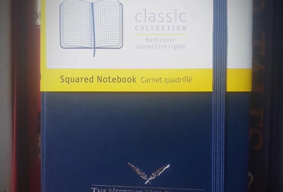 Moleskine Pocket Notebook, Blue Squared