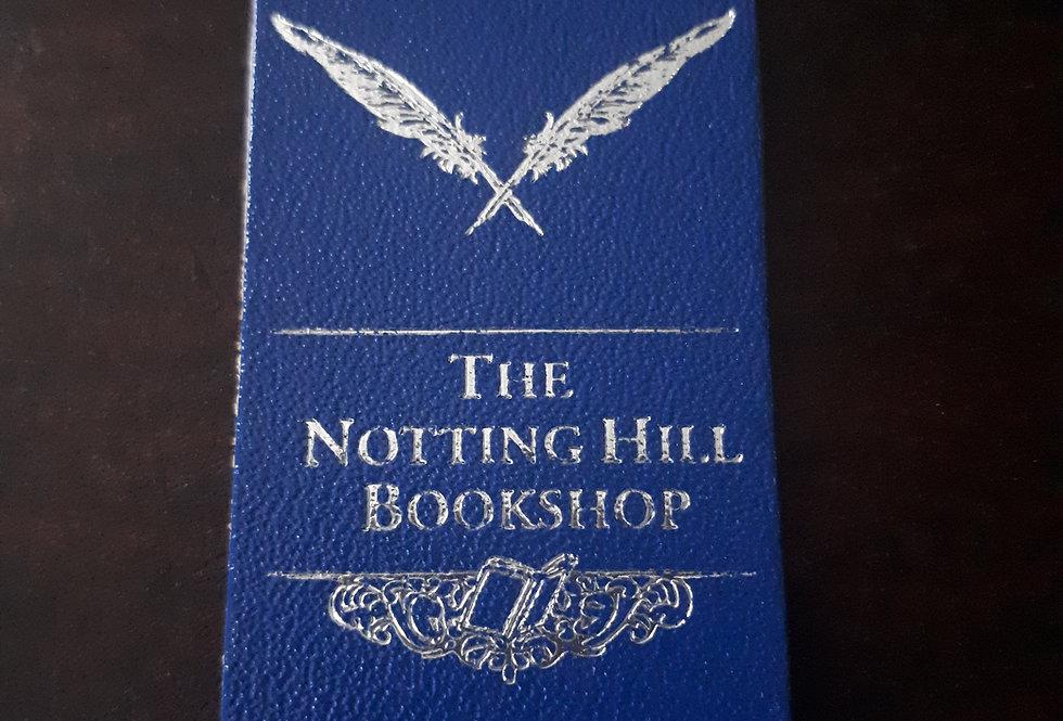 Notting Hill Bookshop Bookmark Blue