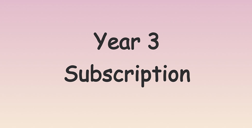 Year 3 Subscription