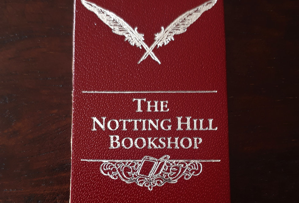 Notting Hill Bookshop Bookmark Red