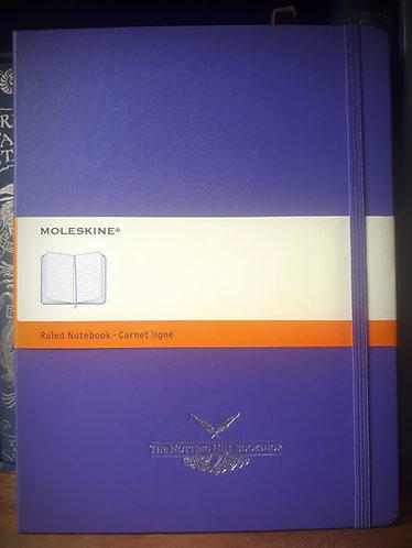 Moleskine Notebook, XLarge Violet Ruled