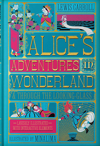 Alice In Wonderland (Illustrated With Interactive Elements)