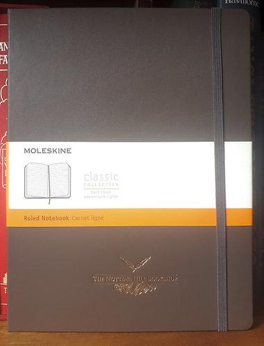 Moleskine Notebook, XLarge Brown Ruled