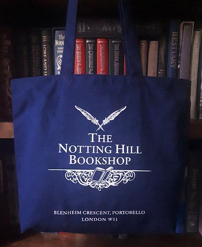 Notting Hill Bookshop Zipped Tote Bag