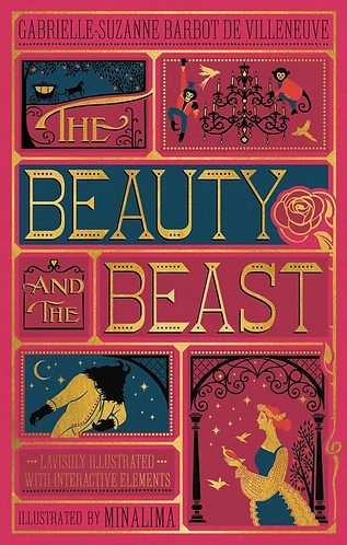Beauty and the Beast (Illustrated With Interactive Elements)