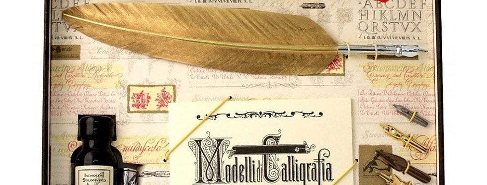 Gold Calligraphy Set
