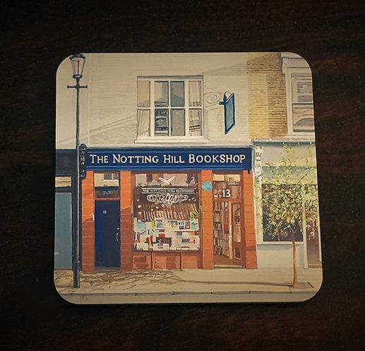 Notting Hill Bookshop Coaster 1