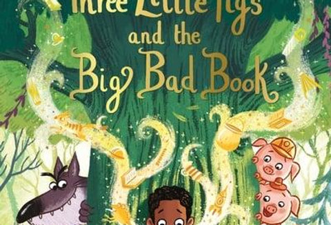 The Three Little Pigs and the Big Bad Book, Lucy Rowland