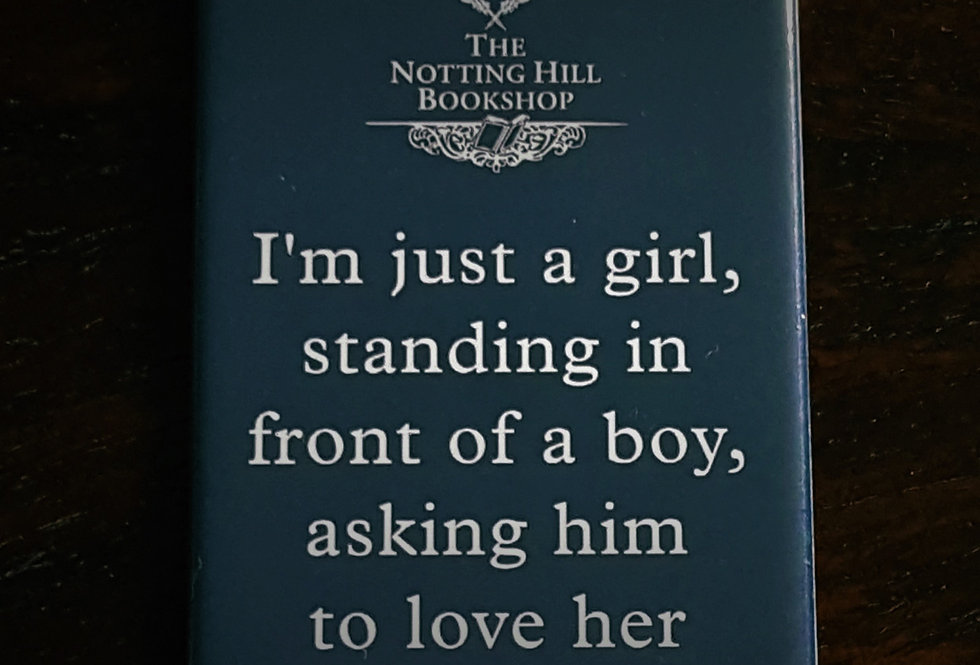 Notting Hill Bookshop Magnet Quote