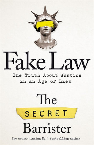 Fake Law, The Secret Barrister, Signed