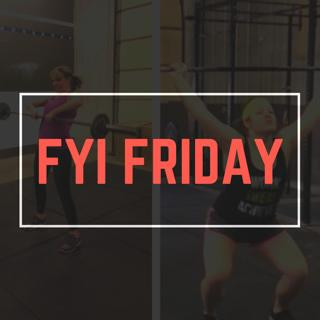 "What's Up M-Town!!! ""It's FYI FRIDAY"""