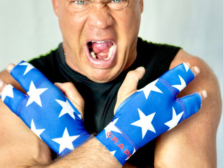 Get You Some Grappz For Grappling- Kurt Angle Approved