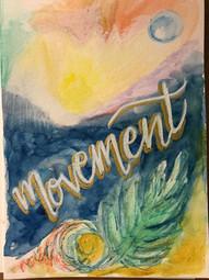 Watercolour Movement