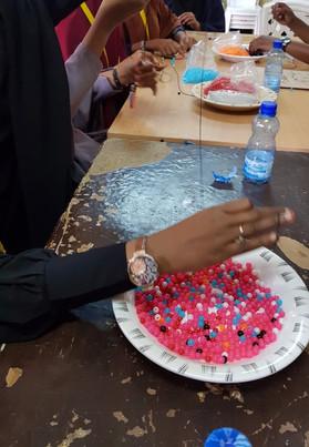Gratitude Bracelet Making