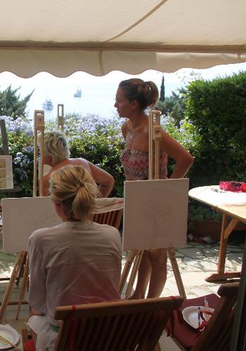 Le Giddy Easel Workshop