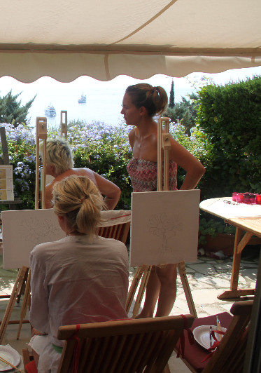Le Giddy Easel Workshop