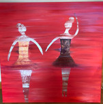 Acrylic Dancers