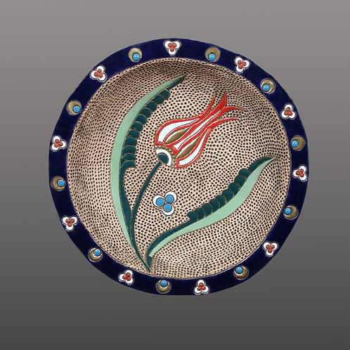 Circle Tulip Plate