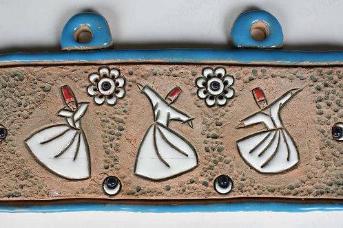 Panel 4 Sufi (Whirling Dervish)
