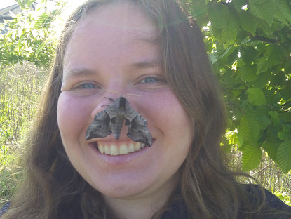 Charlotte Wells- Education Officer & Moth Mad!