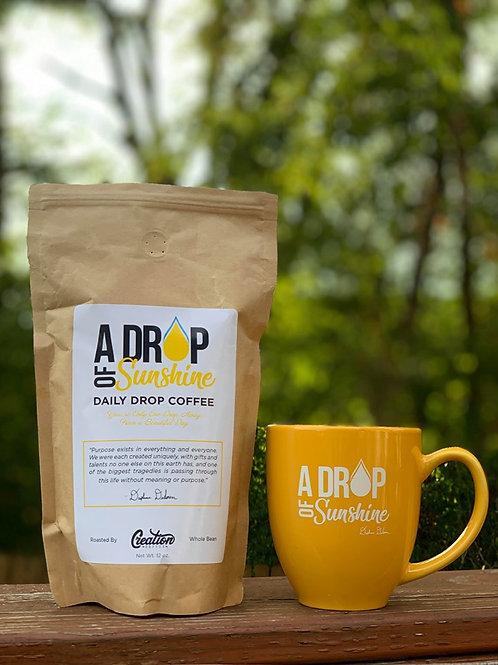 Bundle - A Drop of Sunshine Mug & Specialty Grade Coffee