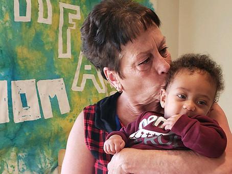 Foster Grandparents volunteer to help kids