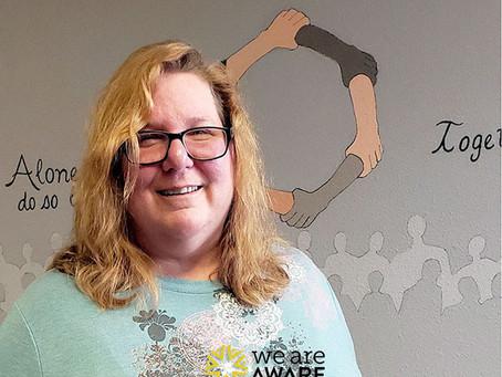 Woman overcomes mental health challenge