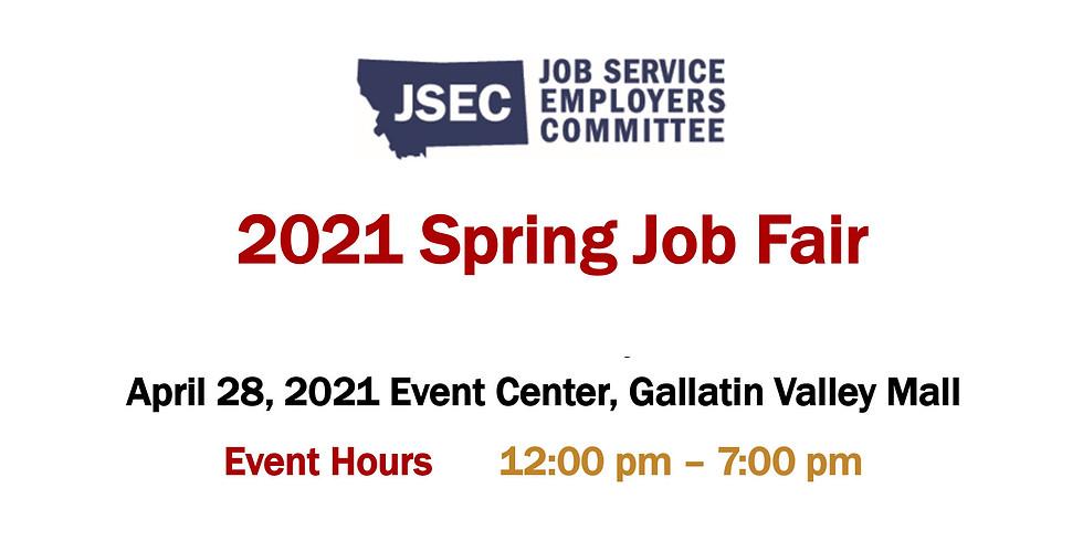 Bozeman 2021 Spring Job Fair