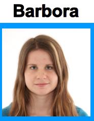 Barbora recherche une famille d'accueil