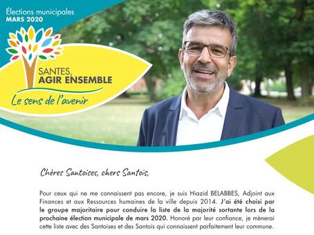 Hiazid BELABBES s'adresse aux Santois