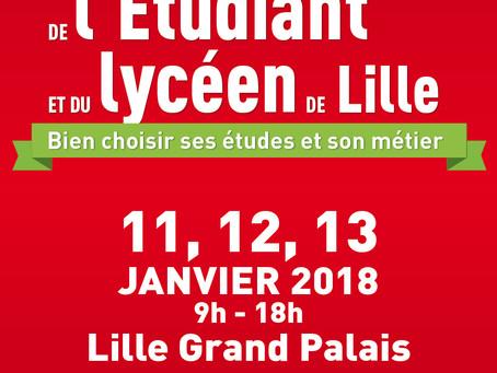 Votre invitation au salon de l'Etudiant de Lille 2018