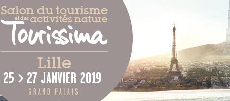 Votre invitation pour le salon Tourissima 2019 à Lille !