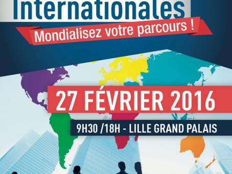 Journée des Formations Internationales à Lille Grand Palais - 27 février 2016