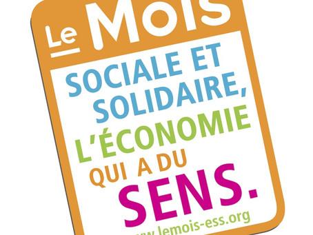 Mois de l'économie sociale et solidaire #MoisESS