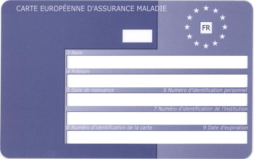 Carte Européenne d'Assurance Maladie - CEAM pour les séjours linguistiques