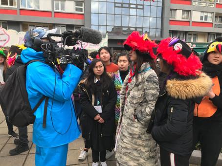 Quand France 5 suit des étudiants d'échange au Carnaval de Dunkerque