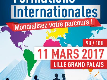 Votre invitation gratuite à la Journée des formations Internationales de Lille.