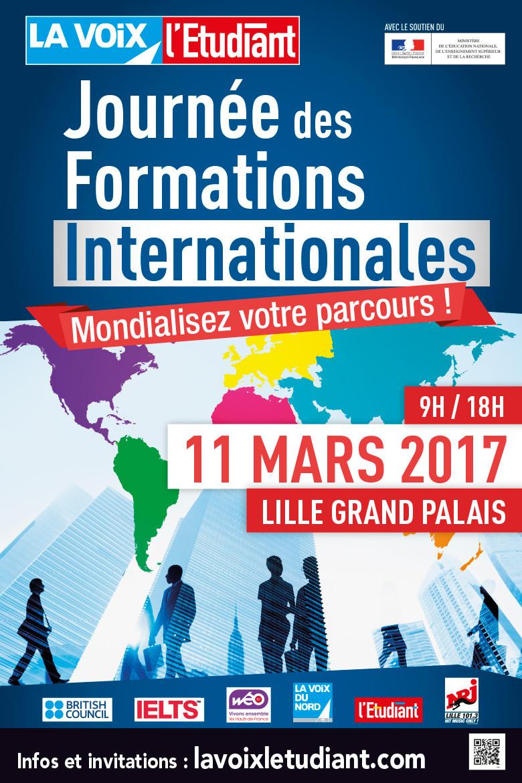 Journée des formations internationales à Lille