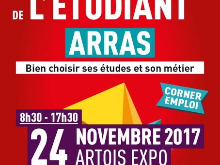 Salon de l'étudiant à Arras - Votre invitation est ici !