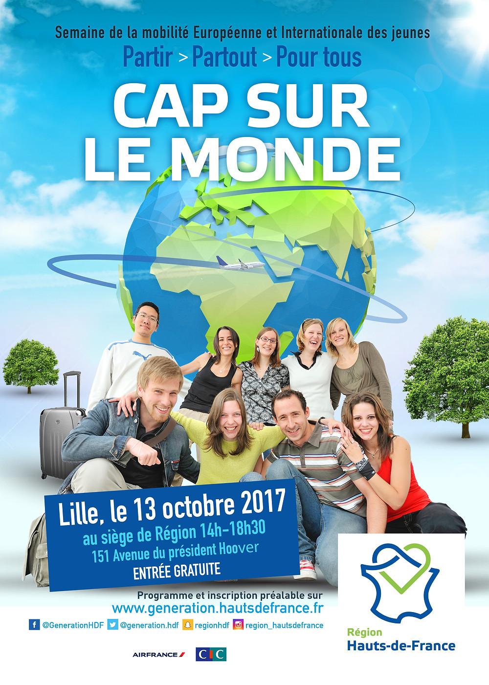 Salon Cap sur le Monde 2017