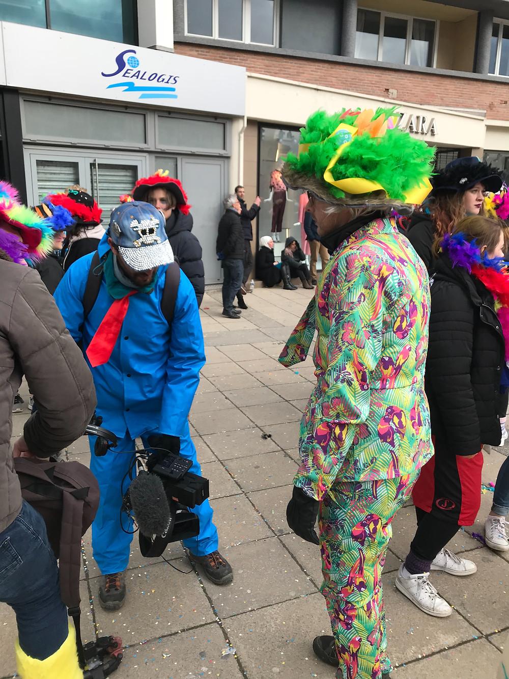 France 5 au Carnaval de Dunkerque