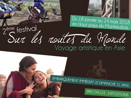 """Festival """"Sur les routes du Monde"""" 2018"""