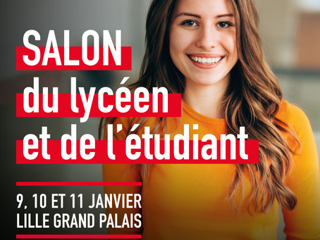 Salon de l'Etudiant de Lille 2020 - Votre invitation gratuite