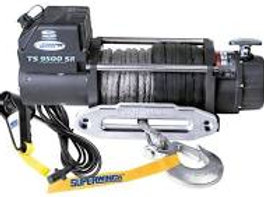 SUPERWINCH TIGER SHARK 9500SR 12V WINCH SYNTHETIC ROPE