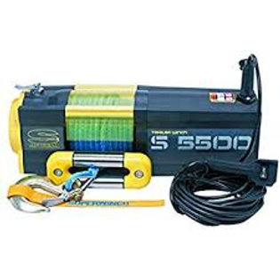 SUPERWINCH S5500 SR 12V 5500 LB WINCH WITH SYNTHETIC ROPE